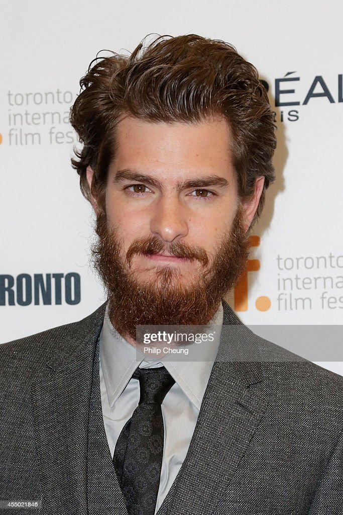 Actor <a gi-track='captionPersonalityLinkClicked' href=/galleries/search?phrase=Andrew+Garfield&family=editorial&specificpeople=4047840 ng-click='$event.stopPropagation()'>Andrew Garfield</a> attends the '99 Homes' premiere during the 2014 Toronto International Film Festival at Princess of Wales Theatre on September 8, 2014 in Toronto, Canada.