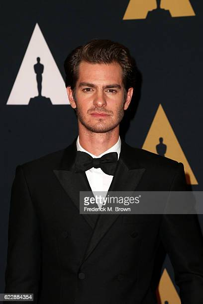 Actor Andrew Garfield attends the Academy of Motion Picture Arts and Sciences' 8th annual Governors Awards at The Ray Dolby Ballroom at Hollywood...