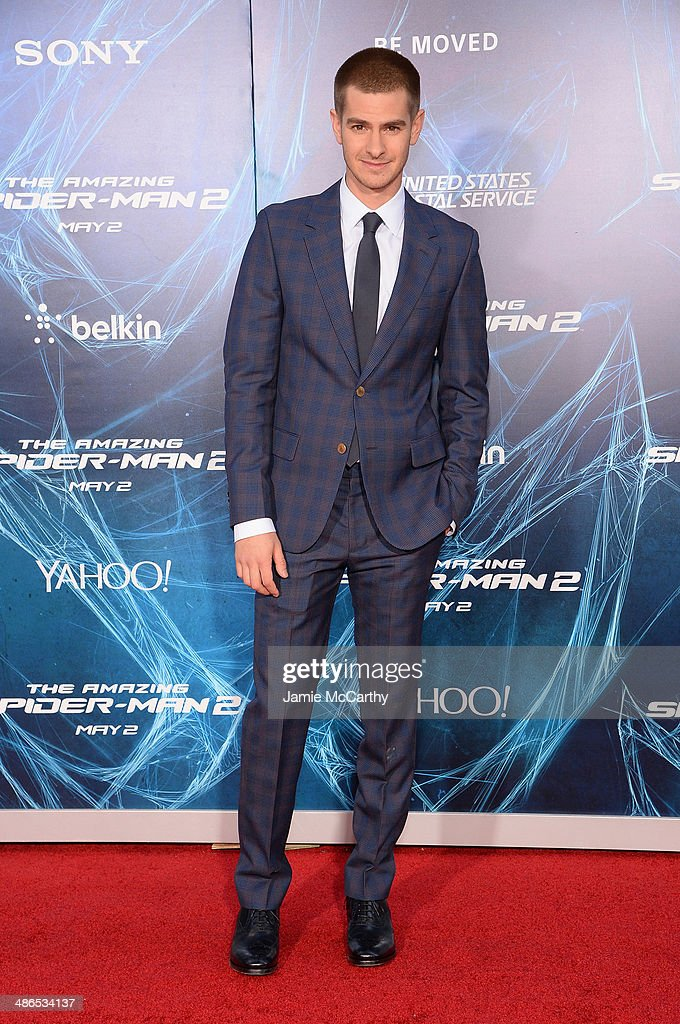 Actor <a gi-track='captionPersonalityLinkClicked' href=/galleries/search?phrase=Andrew+Garfield&family=editorial&specificpeople=4047840 ng-click='$event.stopPropagation()'>Andrew Garfield</a> attends 'The Amazing Spider-Man 2' premiere at the Ziegfeld Theater on April 24, 2014 in New York City.