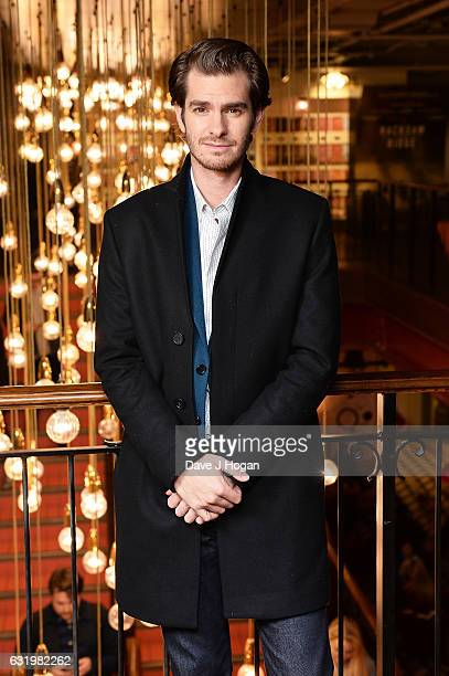 Actor Andrew Garfield attends the screening of 'Hacksaw Ridge' at Picturehouse Central on January 18 2017 in London England