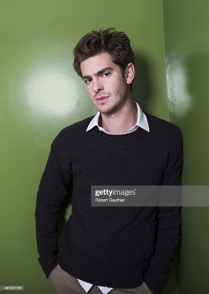 Actor <a gi-track='captionPersonalityLinkClicked' href=/galleries/search?phrase=Andrew+Garfield&family=editorial&specificpeople=4047840 ng-click='$event.stopPropagation()'>Andrew Garfield</a> is photographed for Los Angeles Times on April 3, 2014 in Los Angeles, California. PUBLISHED IMAGE.