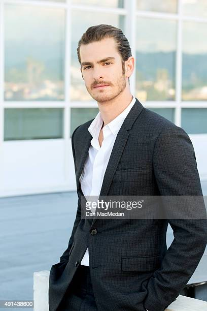 Actor Andrew Garfield is photographed for USA Today on September 8 2015 in Los Angeles California