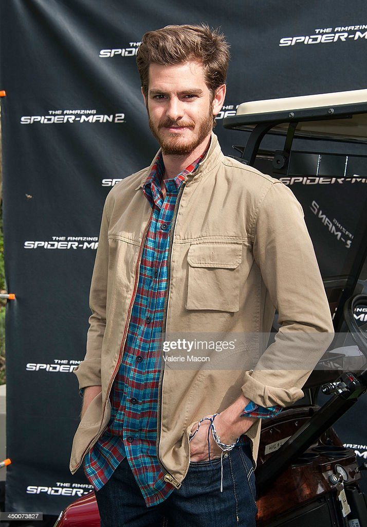 Actor <a gi-track='captionPersonalityLinkClicked' href=/galleries/search?phrase=Andrew+Garfield&family=editorial&specificpeople=4047840 ng-click='$event.stopPropagation()'>Andrew Garfield</a> poses at 'The Amazing Spiderman 2' Los Angeles Photo Call at Sony Pictures Studios on November 16, 2013 in Culver City, California.