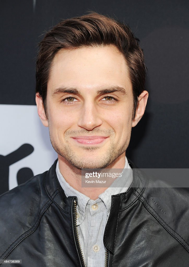Actor Andrew J. West attends the 2014 MTV Movie Awards at Nokia Theatre L.A. Live on April 13, 2014 in Los Angeles, California.