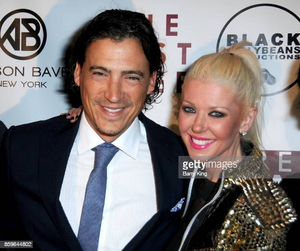 Actor Andrew Keegan and actress Tara Reid attend 'The Lost Tree' screening at TCL Chinese 6 Theatres on October 9 2017 in Hollywood California