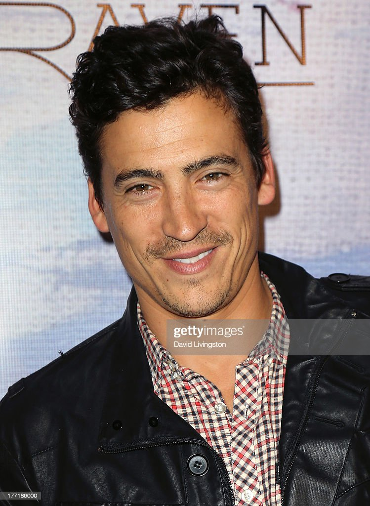 Actor <a gi-track='captionPersonalityLinkClicked' href=/galleries/search?phrase=Andrew+Keegan&family=editorial&specificpeople=214042 ng-click='$event.stopPropagation()'>Andrew Keegan</a> attends the opening night of Billy Zane's 'Seize The Day Bed' solo art exhibition at G+ Gulla Jonsdottir Design on August 21, 2013 in Los Angeles, California.