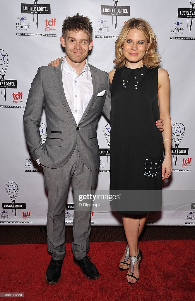 Actor Andrew Keenan-Bolger and actress Celia Keenan-Bolger attend the 29th Annual Lucille Lortel Awards at NYU Skirball Center on May 4, 2014 in New York City.