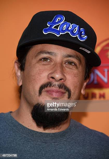 Actor Andrew Kishino arrives at the premiere of Disney Channel's 'The Lion Guard Return Of The Roar' at Walt Disney Studios on November 14 2015 in...