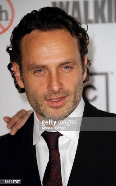 Actor Andrew Lincoln arrives for AMC's 'The Walking Dead' Season 3 Premiere held at AMC Universal Citywalk Stadium 19 on October 4 2012 in Universal...