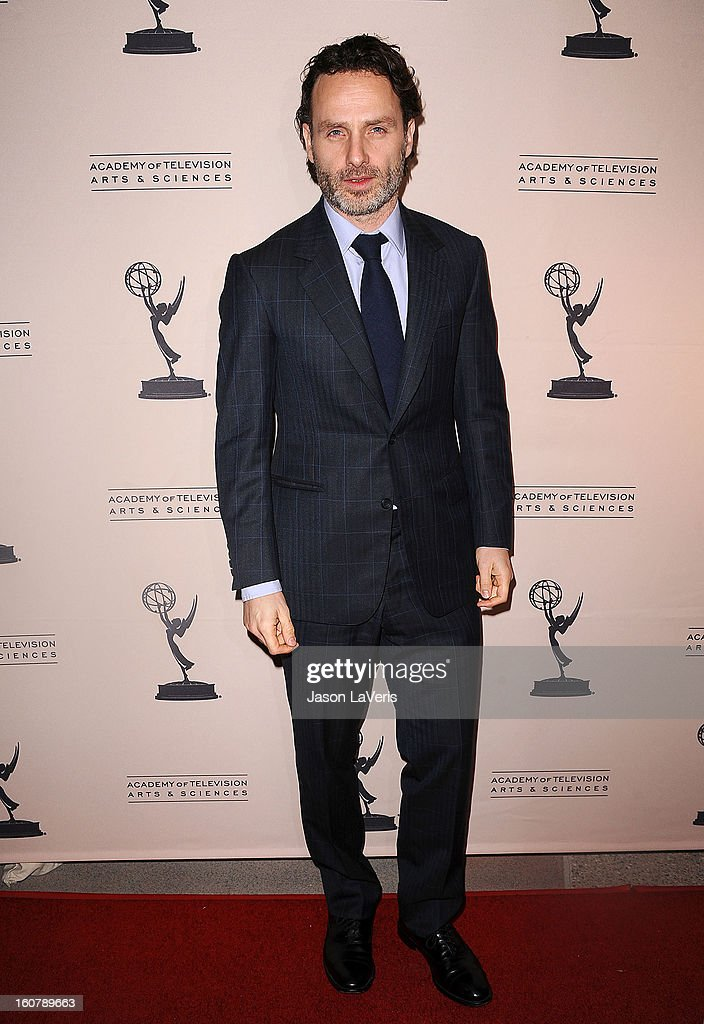 Actor Andrew Lincoln attends an evening with 'The Walking Dead' at Leonard H. Goldenson Theatre on February 5, 2013 in North Hollywood, California.