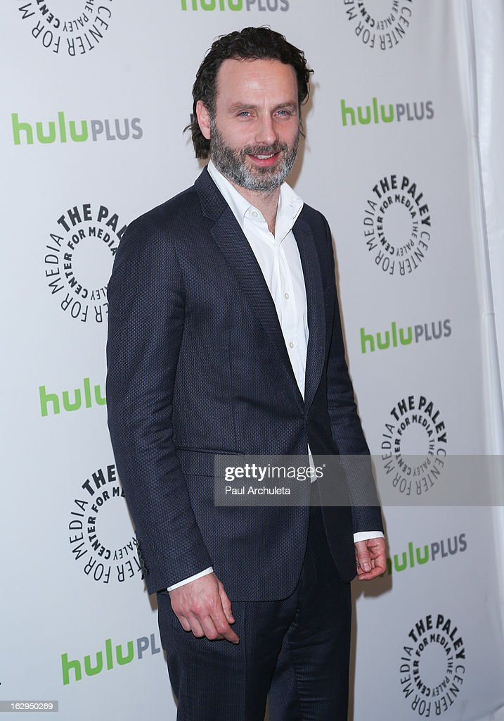 Actor Andrew Lincoln attends the 30th Annual PaleyFest featuring the cast of 'The Walking Dead' at Saban Theatre on March 1, 2013 in Beverly Hills, California.