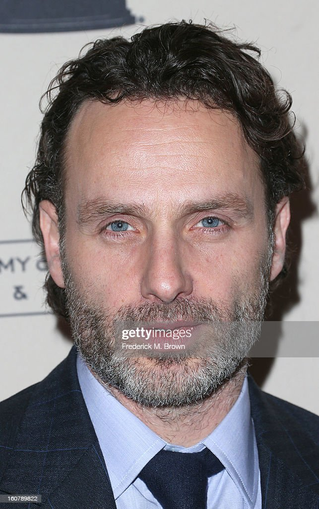 Actor Andrew Lincoln attends The Academy Of Television Arts & Sciences Presents An Evening With 'The Walking Dead' at the Leonard H. Goldenson Theatre on February 5, 2013 in North Hollywood, California.