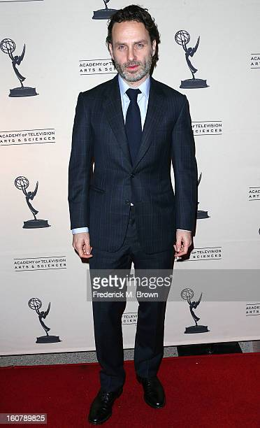 Actor Andrew Lincoln attends The Academy Of Television Arts Sciences Presents An Evening With 'The Walking Dead' at the Leonard H Goldenson Theatre...