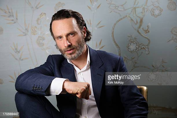 Actor Andrew Lincoln is photographed for Los Angeles Times on April 30 2013 in Los Angeles California PUBLISHED IMAGE CREDIT MUST BE Kirk McKoy/Los...