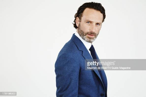 Actor Andrew Lincoln is photographed for TV Guide Magazine on July 20 2013 on the TV Guide Magazine Yacht in San Diego California PUBLISHED IMAGE...