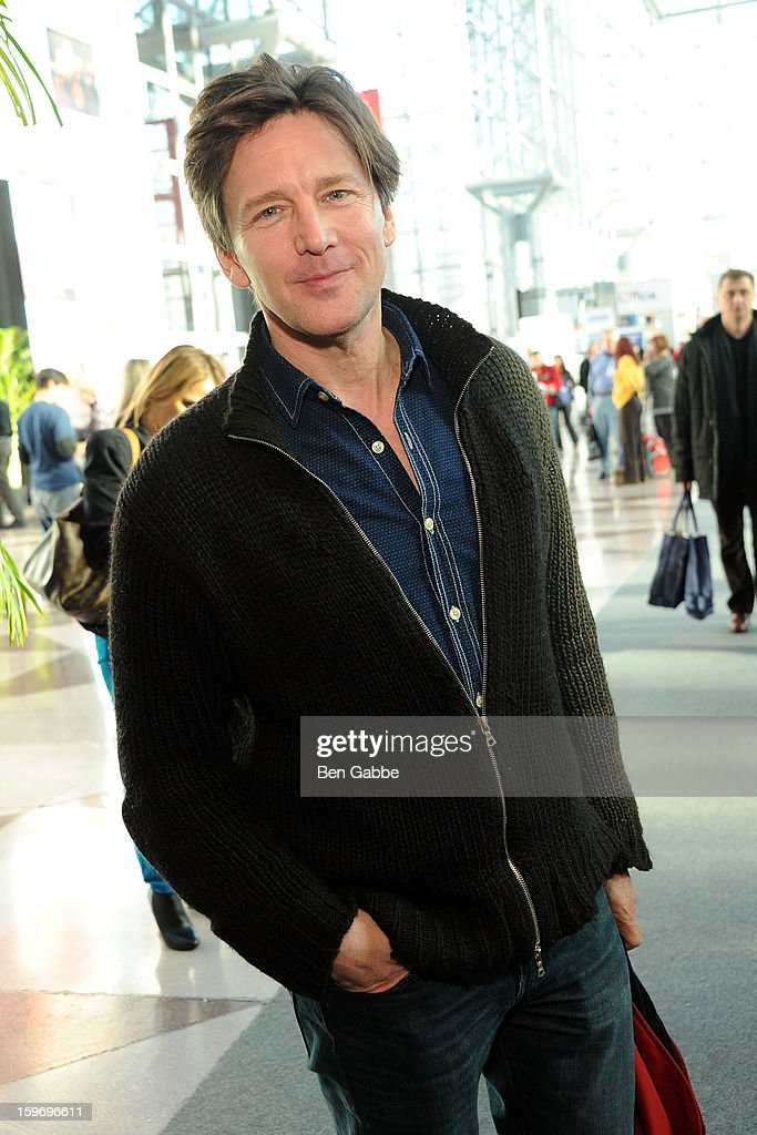 Actor <a gi-track='captionPersonalityLinkClicked' href=/galleries/search?phrase=Andrew+McCarthy&family=editorial&specificpeople=226865 ng-click='$event.stopPropagation()'>Andrew McCarthy</a> attends The 10th Annual New York Times Travel Show Ribbon Cutting And Preview at Javits Center on January 18, 2013 in New York City.