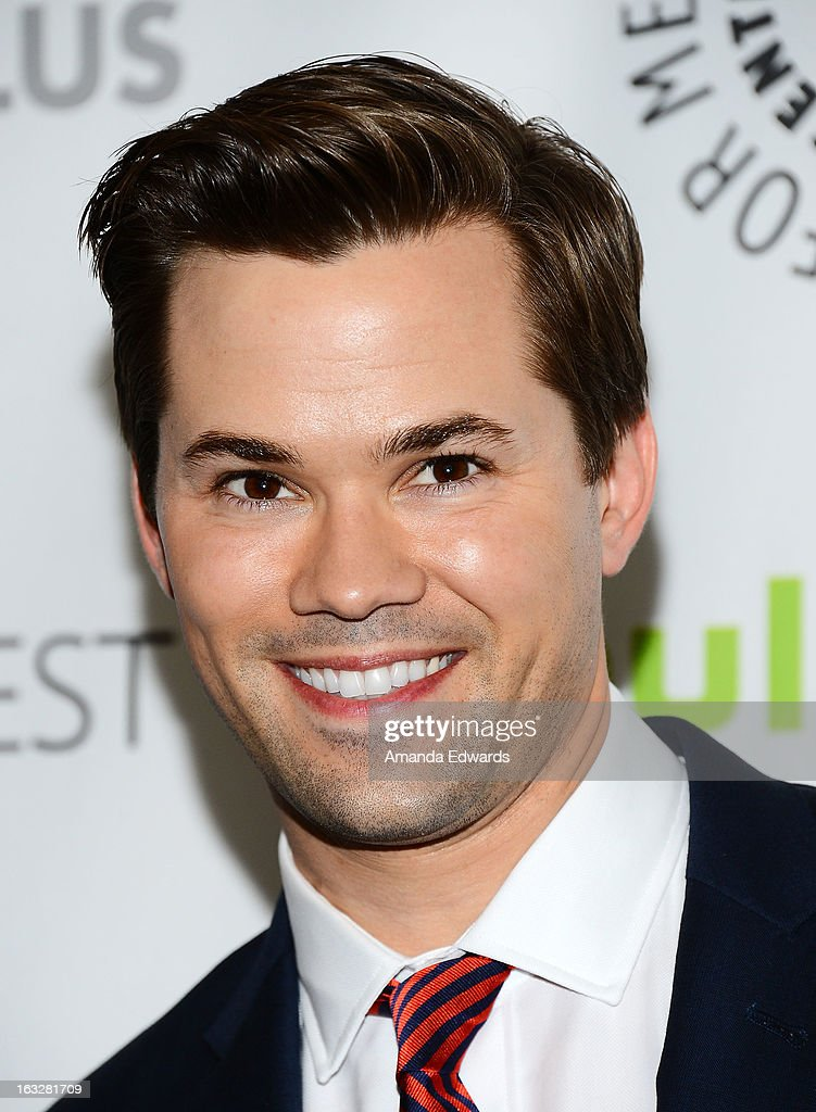 Actor Andrew Rannells arrives at the 30th Annual PaleyFest: The William S. Paley Television Festival featuring 'The New Normal' at the Saban Theatre on March 6, 2013 in Beverly Hills, California.