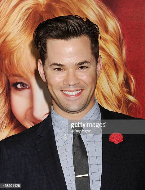 Actor Andrew Rannells arrives at the Los Angeles premiere of HBO's series 'The Comeback' at the El Capitan Theatre on November 5 2014 in Hollywood...