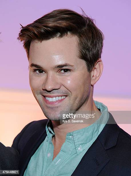 Actor Andrew Rannells attends 'Buyer Cellar' celebrates 301th performance at the Barrow Street Theater on March 18 2014 in New York City