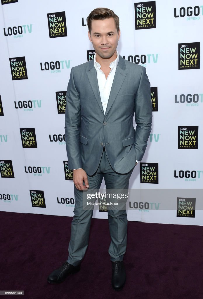 Actor Andrew Rannells attends the 2013 NewNowNext Awards at The Fonda Theatre on April 13, 2013 in Los Angeles, California.