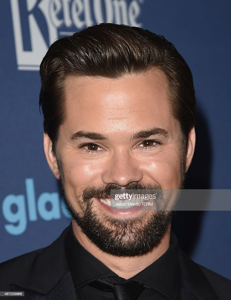 Actor Andrew Rannells attends the 26th Annual GLAAD Media Awards at The Beverly Hilton Hotel on March 21, 2015 in Beverly Hills, California.