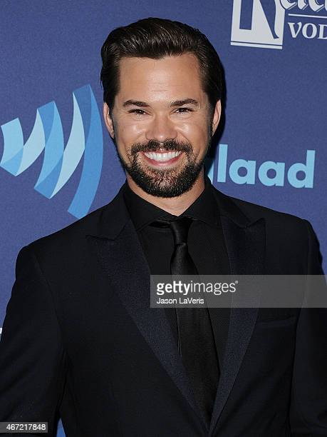 Actor Andrew Rannells attends the 26th annual GLAAD Media Awards at The Beverly Hilton Hotel on March 21 2015 in Beverly Hills California