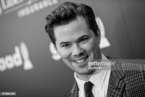 Actor Andrew Rannells attends the 28th Annual GLAAD Awards at New York Hilton Midtown on May 6 2017 in New York City