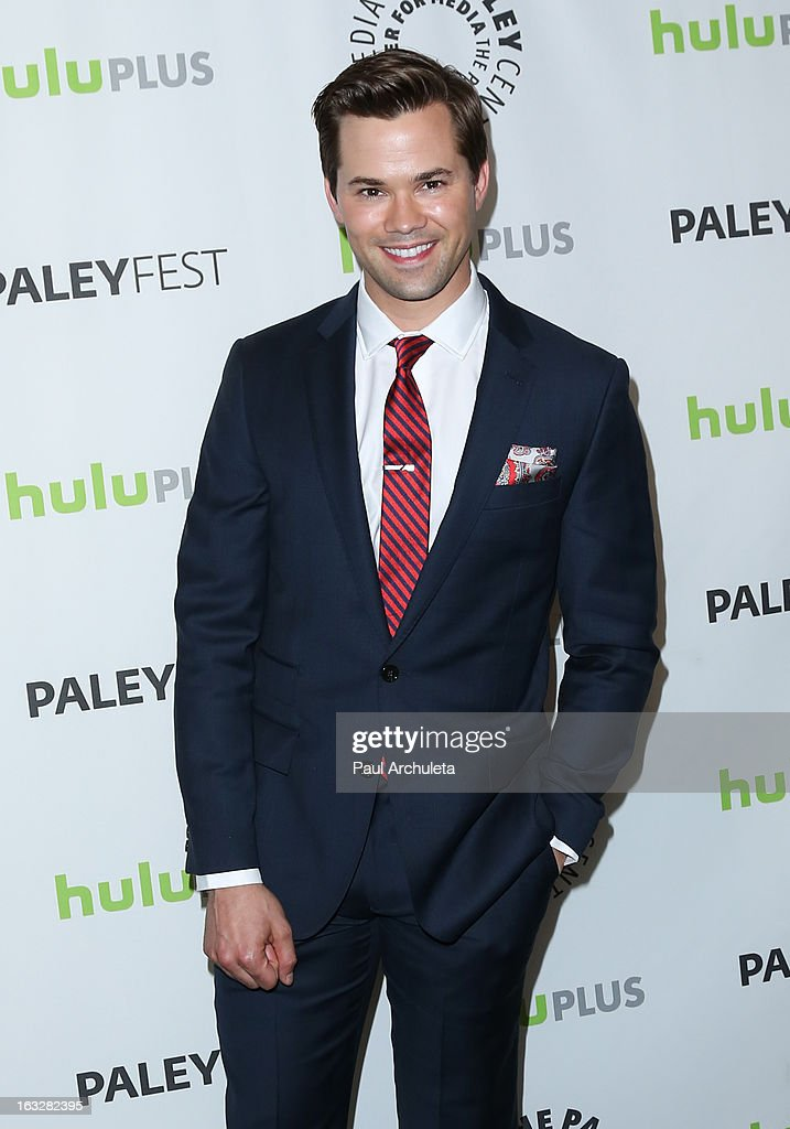 Actor Andrew Rannells attends the 30th annual PaleyFest featuring the cast of 'The New Normal' at Saban Theatre on March 6, 2013 in Beverly Hills, California.
