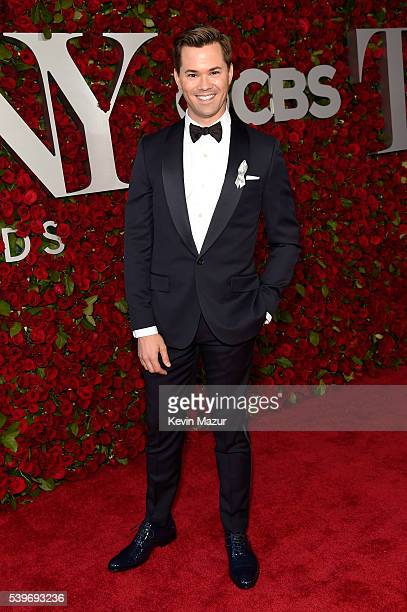 Actor Andrew Rannells attends the 70th Annual Tony Awards at The Beacon Theatre on June 12 2016 in New York City
