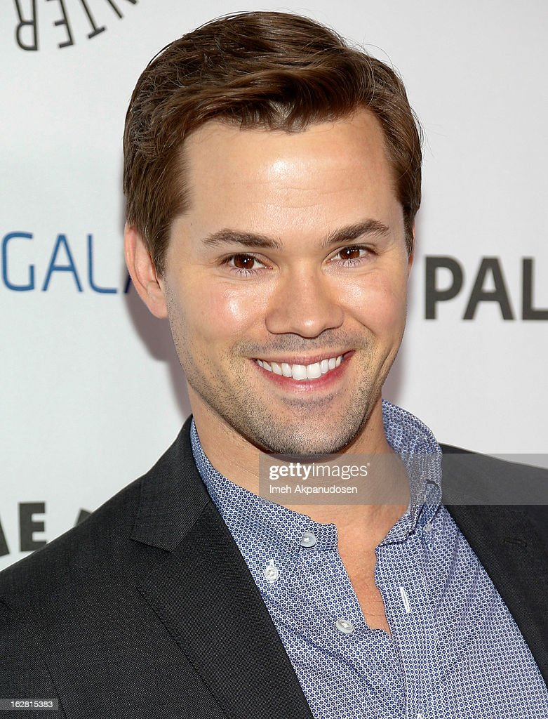 Actor Andrew Rannells attends the Inaugural PaleyFest Icon Award honoring Ryan Murphy at The Paley Center for Media on February 27, 2013 in Beverly Hills, California.