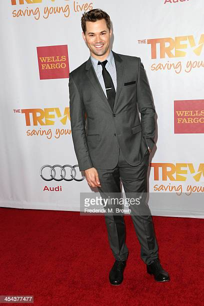 Actor Andrew Rannells attends 'TrevorLIVE LA' honoring Jane Lynch and Toyota for the Trevor Project at Hollywood Palladium on December 8 2013 in...