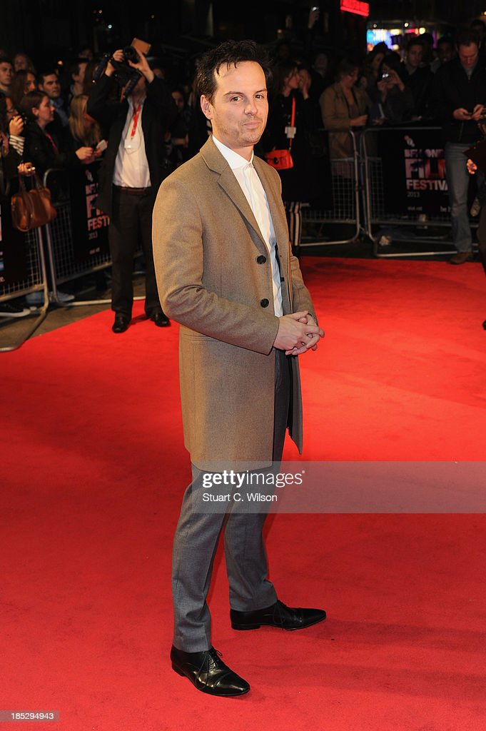 Actor Andrew Scott attends a screening of 'Locke' during the 57th BFI London Film Festival at Odeon West End on October 18, 2013 in London, England.