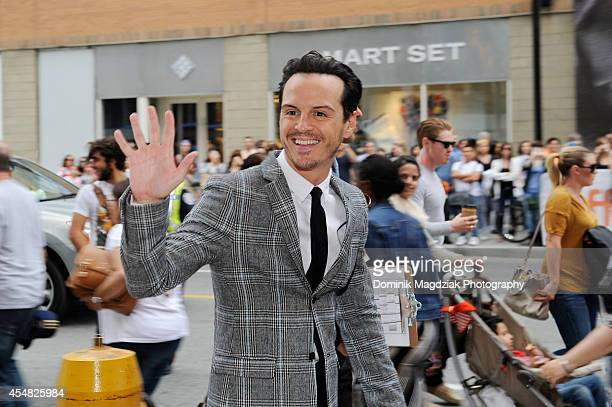 Actor Andrew Scott attends the 'Pride' premiere during the Toronto International Film Festival on September 6 2014 in Toronto Canada