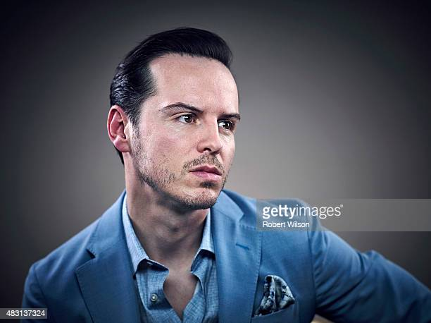 Actor Andrew Scott is photographed for the Times on March 13 2015 in London England