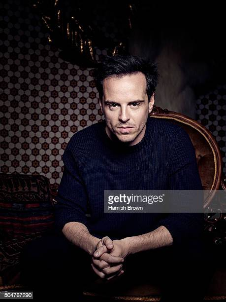 Actor Andrew Scott is photographed Red magazine on June 23 2015 in London England