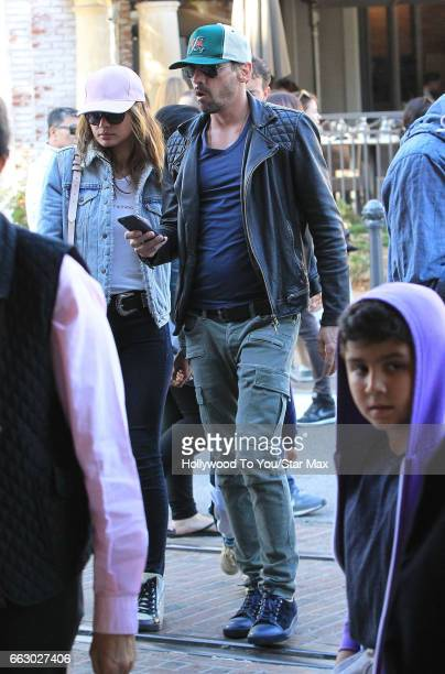 Actor Andrew Shue is seen on March 31 2017 in Los Angeles California