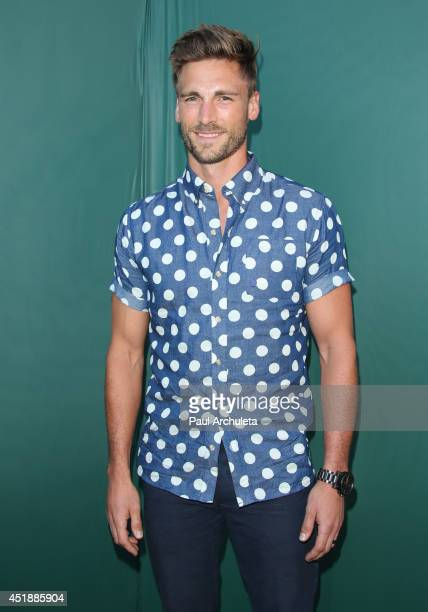 Actor Andrew W Walker attends the Hallmark Channel and Hallmark Movie Channel's 2013 Summer TCA Party on July 8 2014 in Beverly Hills California