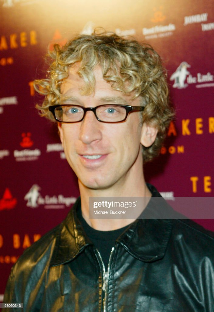 Actor Andy Dick arrives at the Ted Baker Los Angeles store opening on June 16 2005 in Los Angeles California