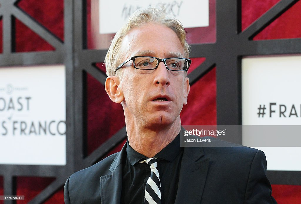 Actor <a gi-track='captionPersonalityLinkClicked' href=/galleries/search?phrase=Andy+Dick&family=editorial&specificpeople=171170 ng-click='$event.stopPropagation()'>Andy Dick</a> attends the Comedy Central Roast of James Franco at Culver Studios on August 25, 2013 in Culver City, California.
