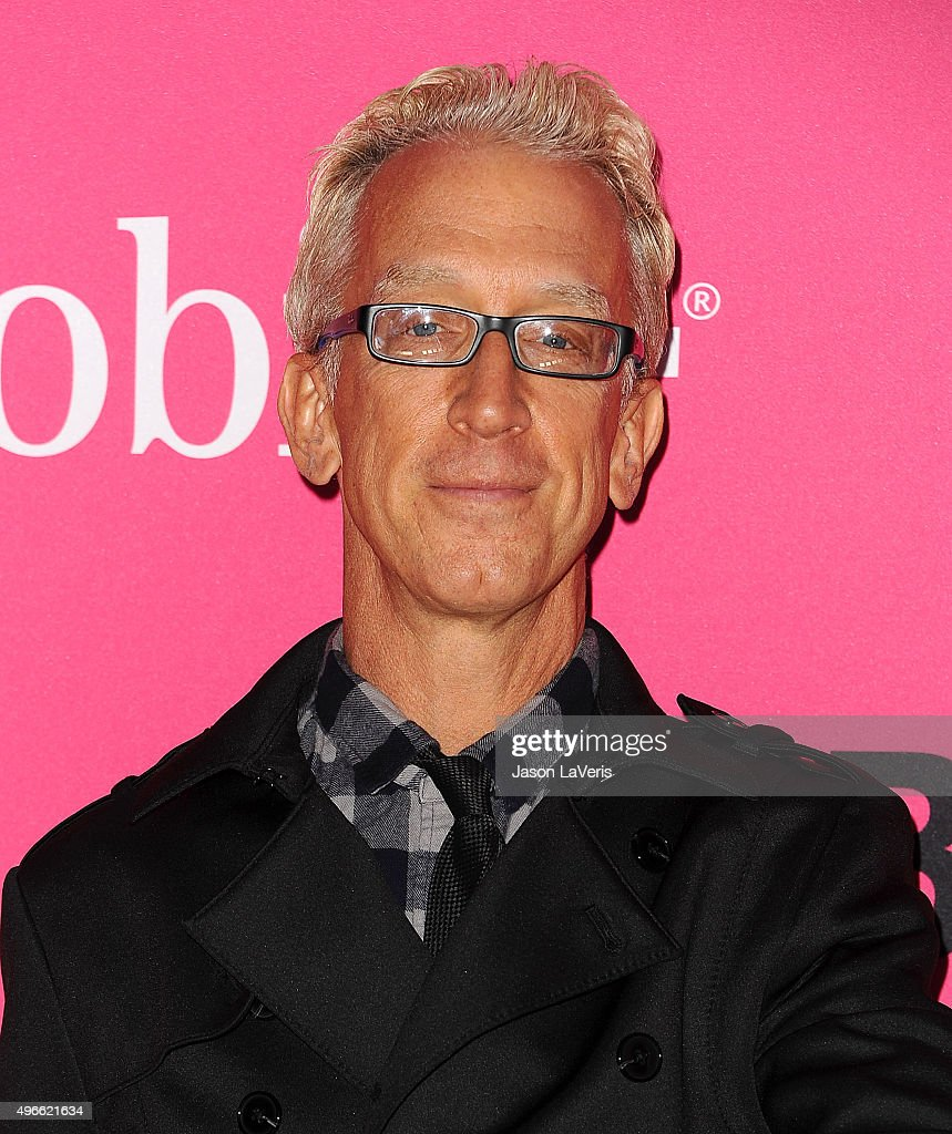 Actor Andy Dick attends the T-Mobile Un-carrier X launch at The Shrine Auditorium on November 10, 2015 in Los Angeles, California.