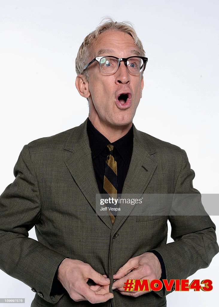 Actor Andy Dick poses for a portrait during Relativity Media's 'Movie 43' Los Angeles premiere at TCL Chinese Theatre on January 23, 2013 in Hollywood, California.