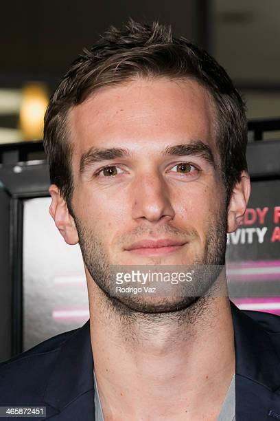 Actor Andy Favreau attends the 'Best Night Ever' Los Angeles Premiere at ArcLight Cinemas on January 29 2014 in Hollywood California
