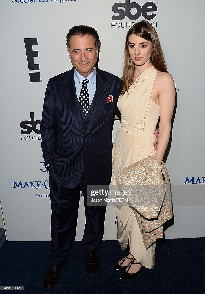 Actor <a gi-track='captionPersonalityLinkClicked' href=/galleries/search?phrase=Andy+Garcia&family=editorial&specificpeople=156410 ng-click='$event.stopPropagation()'>Andy Garcia</a> and daughter Dominik Garca-Lorido attend the Make-A-Wish Greater Los Angeles 30th Anniversary Gala on December 4, 2013 in Los Angeles, California.