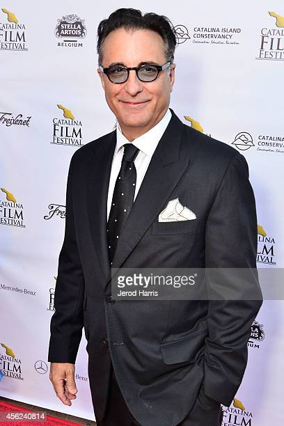 Actor Andy Garcia arrives at the 2014 Catalina Film Festival Premiere of 'Rudderless' on September 27 2014 in Catalina Island California