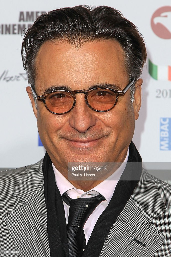 Actor <a gi-track='captionPersonalityLinkClicked' href=/galleries/search?phrase=Andy+Garcia&family=editorial&specificpeople=156410 ng-click='$event.stopPropagation()'>Andy Garcia</a> arrives to the 2012 Cinema Italian Style Opening Night Gala Screening Of 'Caesar Must Die' at the Egyptian Theatre on November 14, 2012 in Hollywood, California.