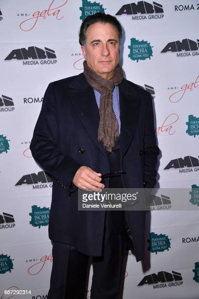Actor Andy Garcia attends AMBI GALA In Honour Of Andy Garcia And Bobby Moresco on March 23 2017 in Rome Italy