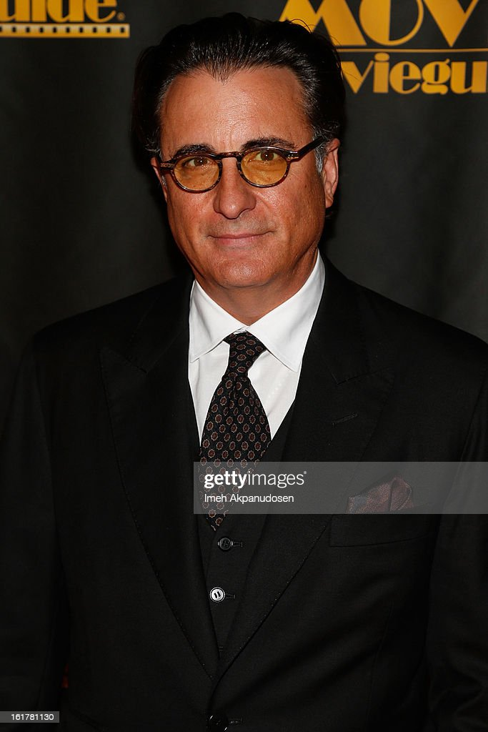 Actor <a gi-track='captionPersonalityLinkClicked' href=/galleries/search?phrase=Andy+Garcia&family=editorial&specificpeople=156410 ng-click='$event.stopPropagation()'>Andy Garcia</a> attends the 21st Annual Movieguide Awards at Universal Hilton Hotel on February 15, 2013 in Universal City, California.