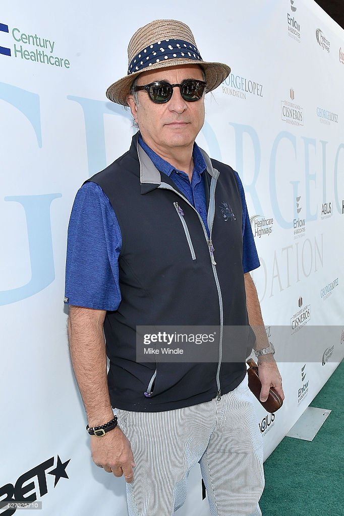 Actor Andy Garcia attends the 9th Annual George Lopez Celebrity Golf Classic to benefit The George Lopez Foundation at Lakeside Golf Club on May 2, 2016 in Burbank, California.