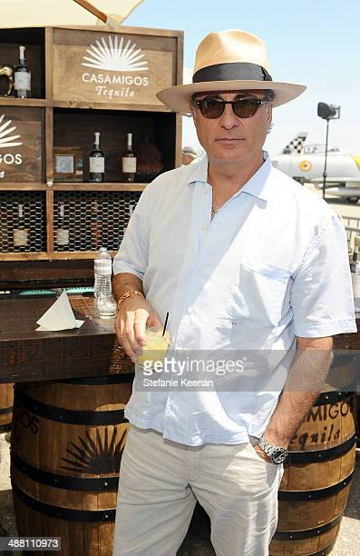 Actor Andy Garcia attends The Horsemen Flight Team Event Hosted By Dan Friedkin And Lauren Sanchez Whitesell sponsored by Casamigos Tequila and...