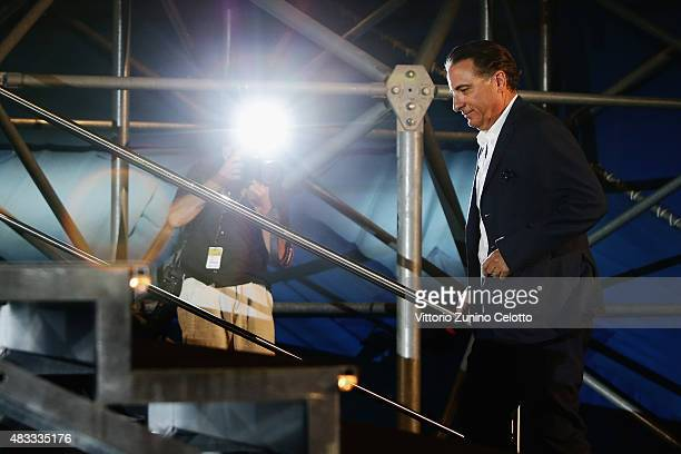 Actor Andy Garcia attends the Leopard Club Award 2015 ceremony on August 7 2015 in Locarno Switzerland